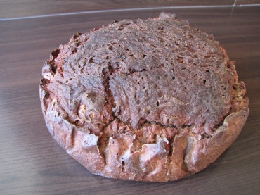 Das fertig gebackene Brot