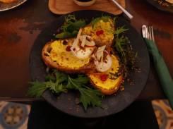 Cafe Dankbar Ei und Pumpkin